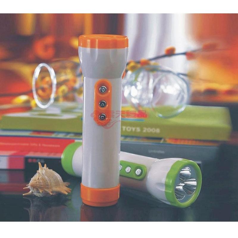 led手电筒(带fm收音机)cw335